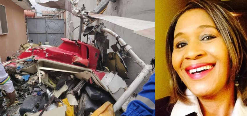 How God Saved Me From Yesterday's Helicopter Crash – Kemi Olunloyo