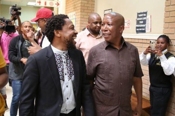 Malema and Ndlozi back in court over assault case