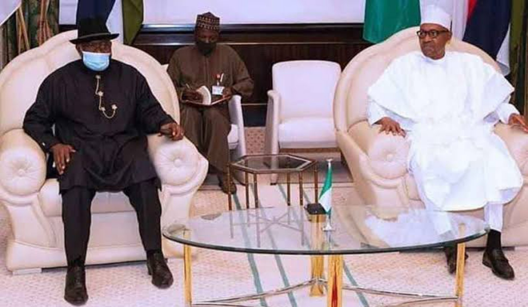 Jonathan briefs Buhari, reveals why military junta refused to release ousted Mali president
