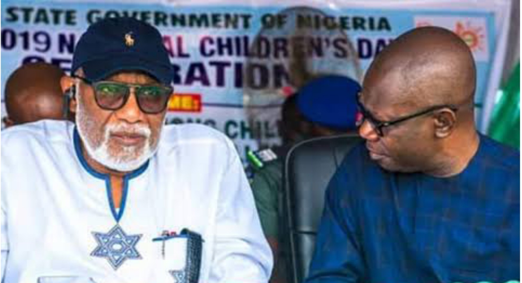 Ondo 2020: Ajayi planning to deface me with fake documents, Akeredolu alleges