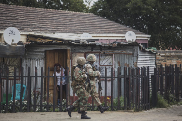 Man who issued 'expired food' to SANDF during lockdown arrested