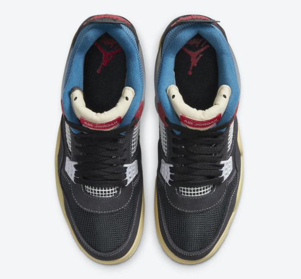 """The Union x Air Jordan 4 """"Off Noir"""" will be released tomorrow"""
