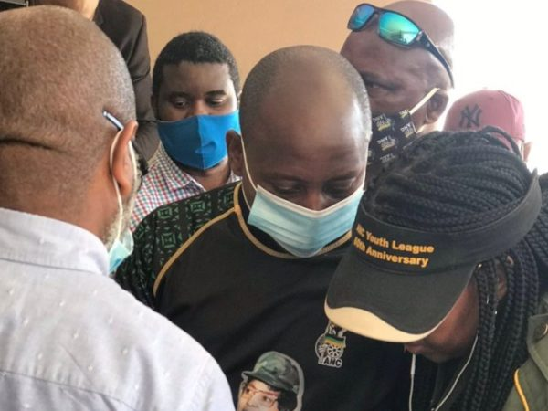 ANC's Andile Lungisa will begin his prison sentence for water jug assault in North End Prison