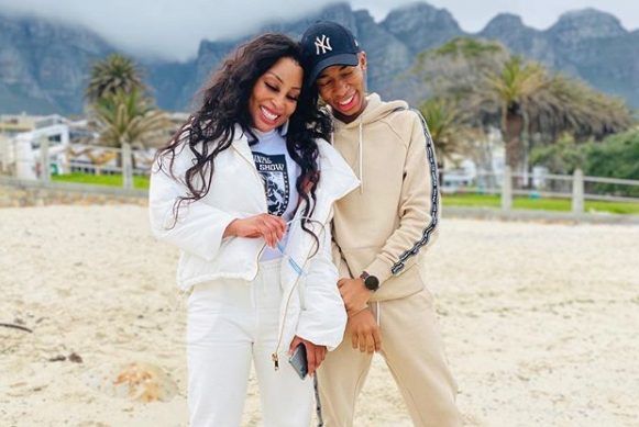 Social media users shocked to know Khanyi Mbau and Lasizwe are siblings