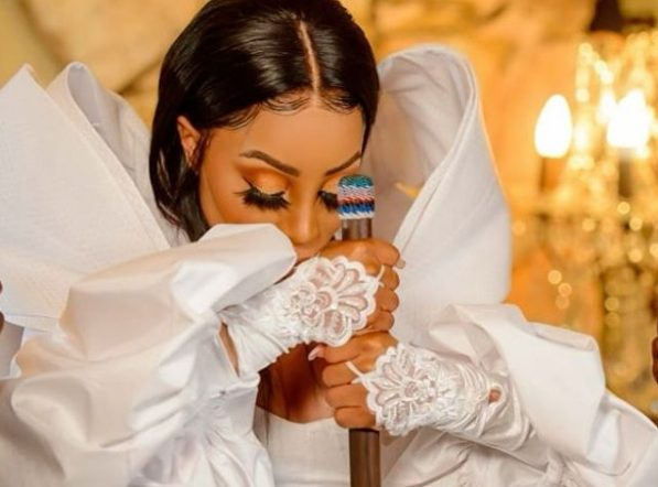 Khanyi Mbau shares snippet off upcoming project – Watch