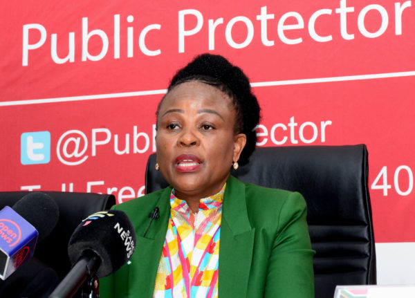 Mkhwebane, Sars appear in court over tax records