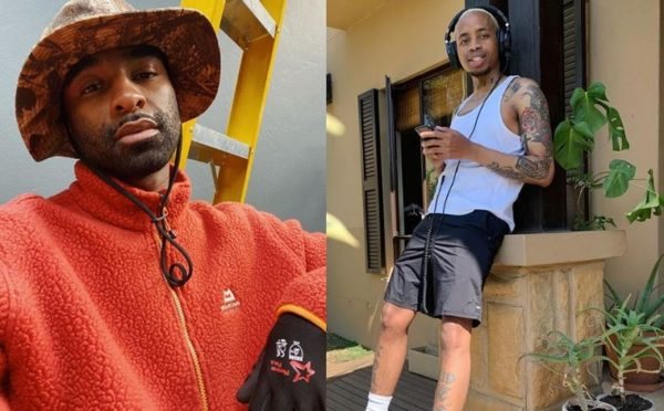 Check out Riky Rick's bromance with Tshego
