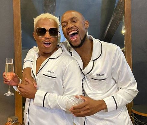 See more photos from Somizi and Mohale's holiday