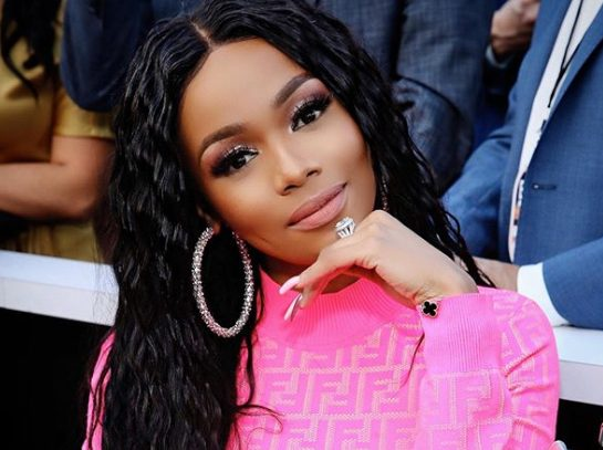 Bonang Matheba launches BNG champagne in Botswana as they celebrate independence day