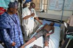 Convoy attack: Zulum visits victims in hospital, condoles with famil
