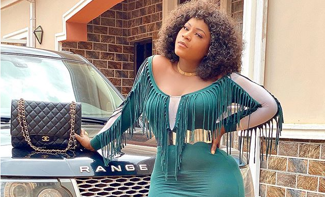 Destiny Etiko shares adorable photos from 'Wasted Beauty' movie set