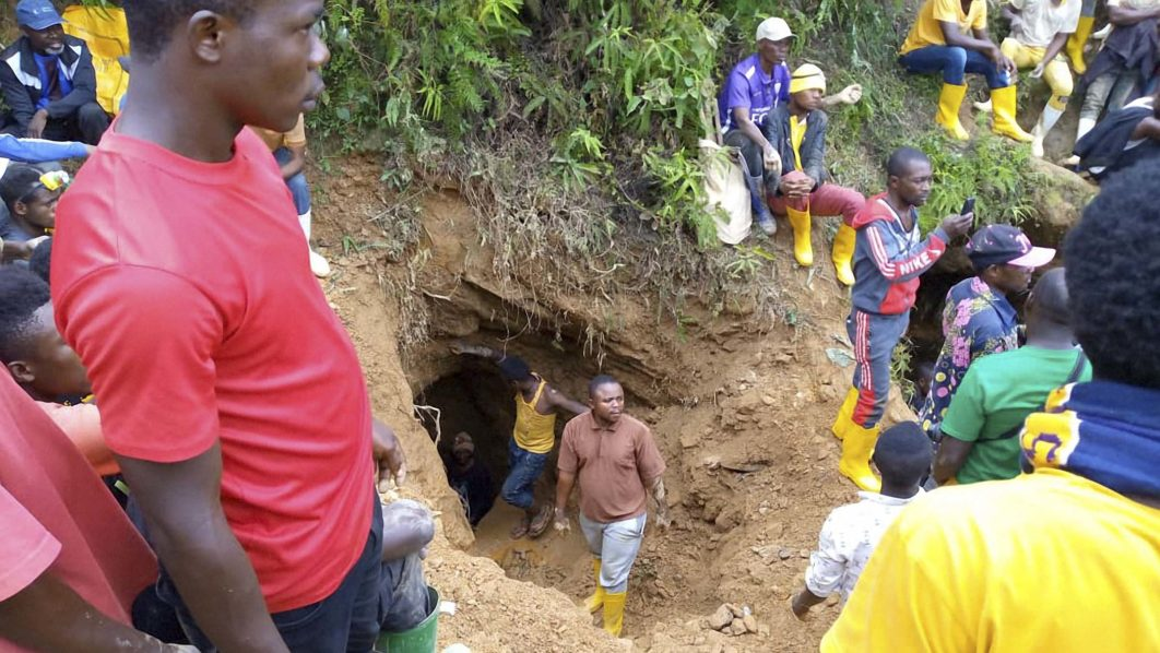 First bodies recovered at DR Congo mine accident site