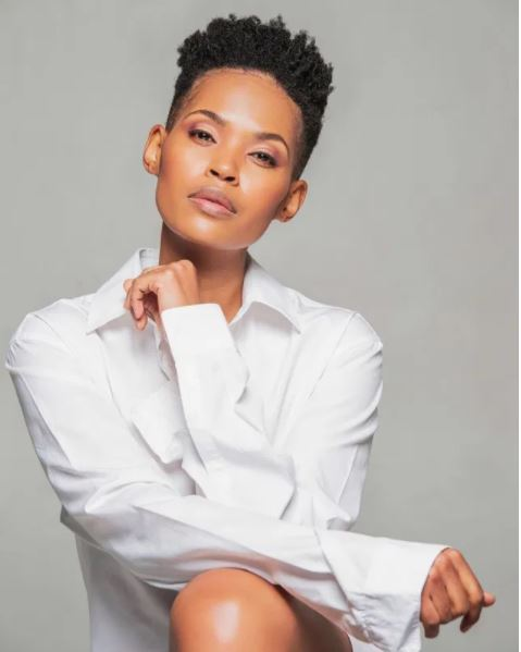 Gail Mabalane shares beautiful photo of herself with son, Khumo