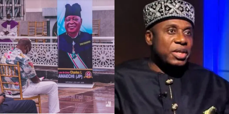 'He left us with a huge responsibility', Rotimi Amaechi pays tribute to his late elder brother