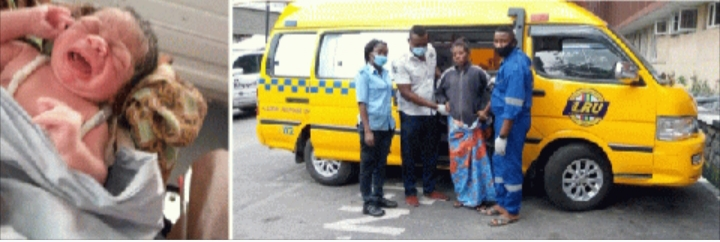 Homeless woman delivered of baby boy under Lagos bridge