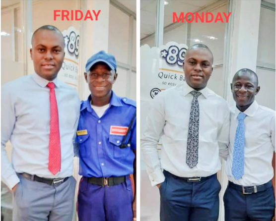 How a banker changed a security guard's life forever