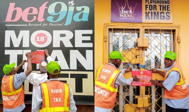 Kaduna shuts down Bet9ja, other betting platforms