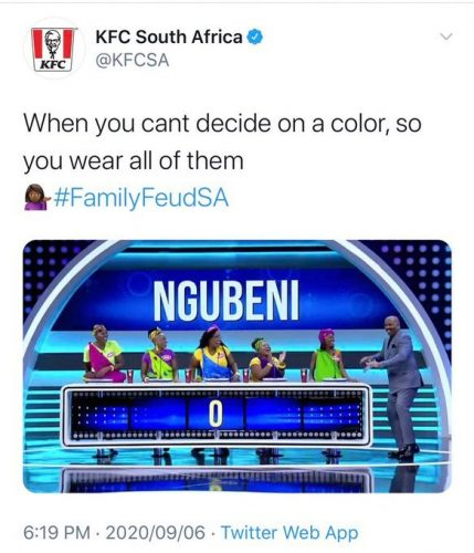KFC apologises for 'insensitive' twitter post