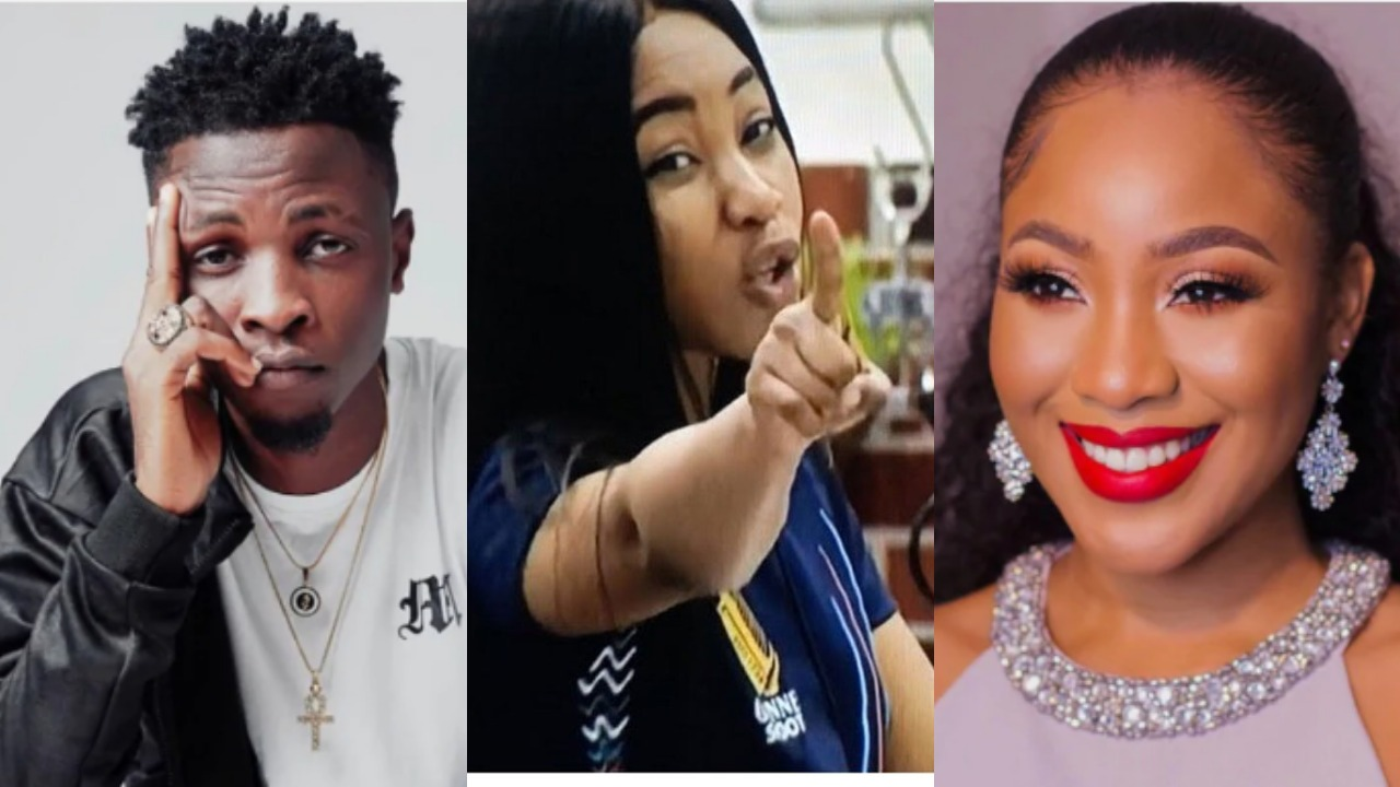 Laycon finally reacts to Erica's disqualification