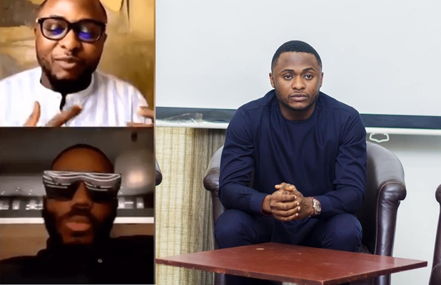 "Moment Kiddwaya ""embarrassed"" Ubi Franklin during IG live for asking about Erica and Laycon (Video)"