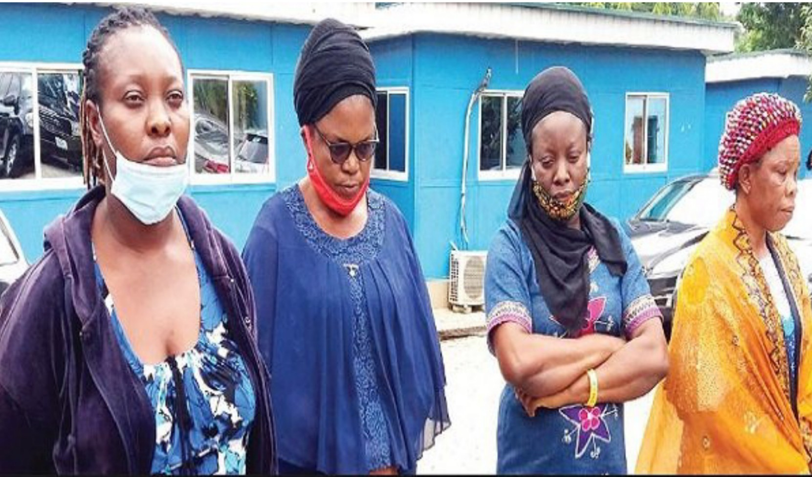 NAPTIP parade four women for selling newborn baby for N1.5m in Abuja
