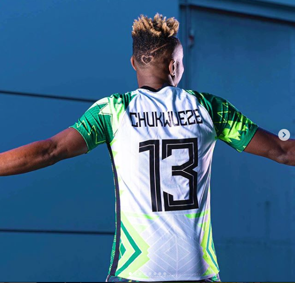 NFF unveils new kit for Super Eagles and Super Falcons for 2020-2022 (photos)
