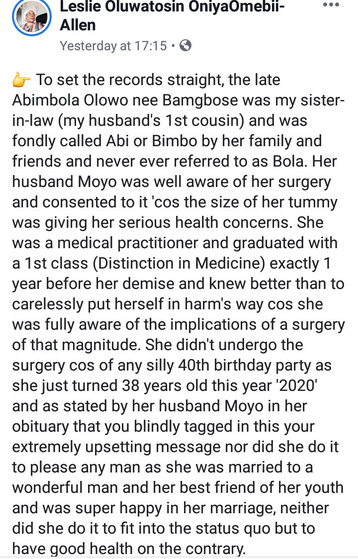 Nigerian woman dies allegedly after going to Turkey for plastic surgery; her husband reacts