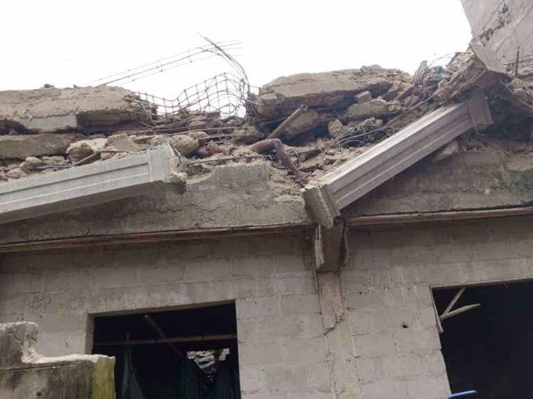 PHOTOS: Four dead, more feared trapped as building under construction collapses in Aba