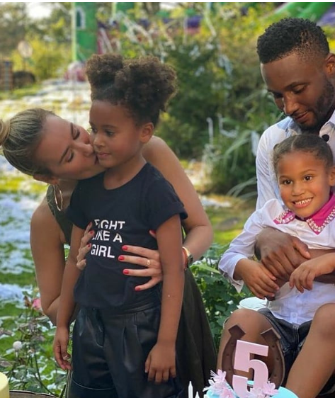 Photos from footballer, John Mikel Obi's twin daughters' 5th birthday party