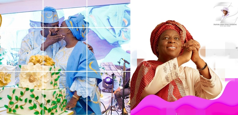 Photos: Pastor Adeboye celebrates wife with a passionate kiss on her 72nd birthday