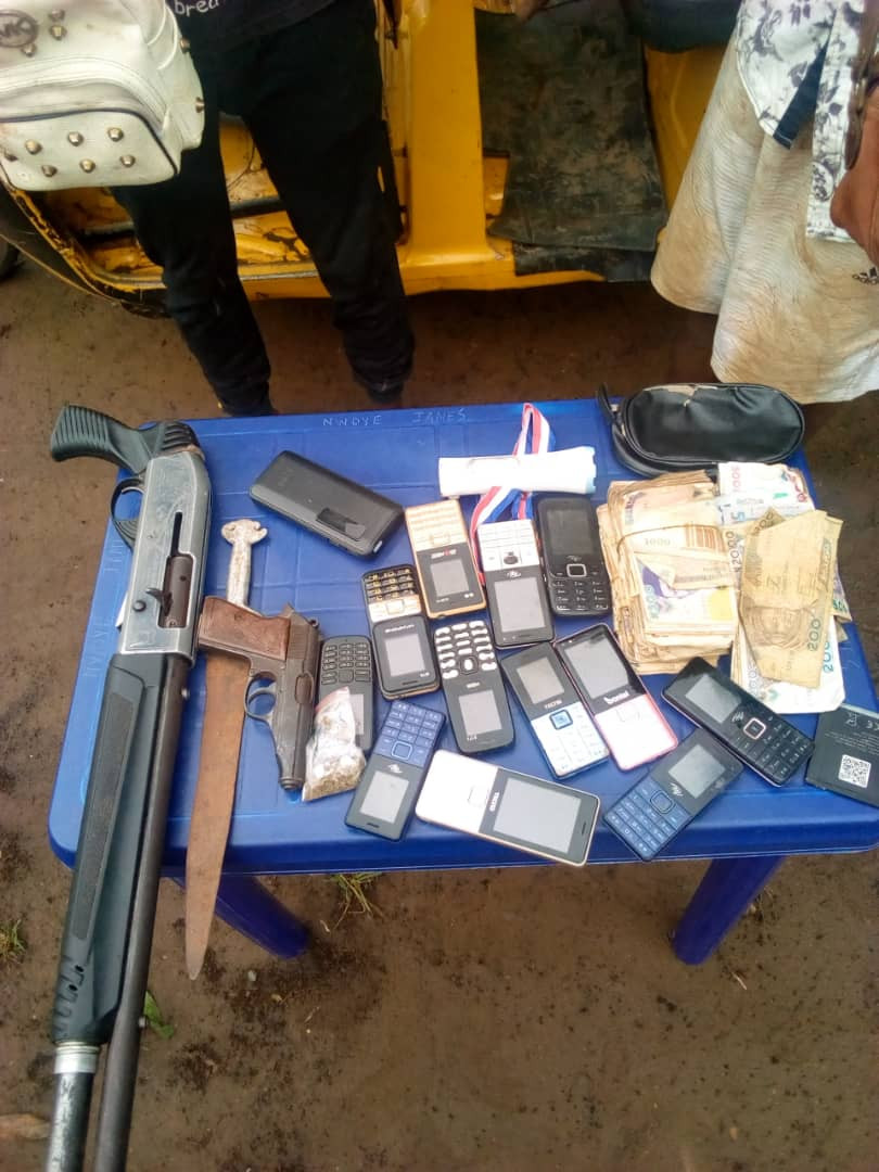 Police arrest two notorious 'one chance' armed robbers in Anambra