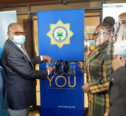 First 'police hospital' officially opens in Pretoria for Covid-19