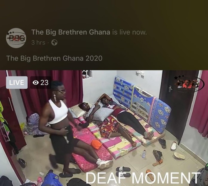 Reactions as photos from Big Brethren Ghana, Ghana's version of Big Brother surface online