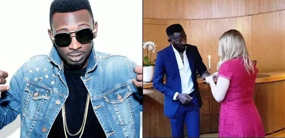 Singer MayD jubilates as his marriage to his Swedish wife, Caro, crashes after 2yrs