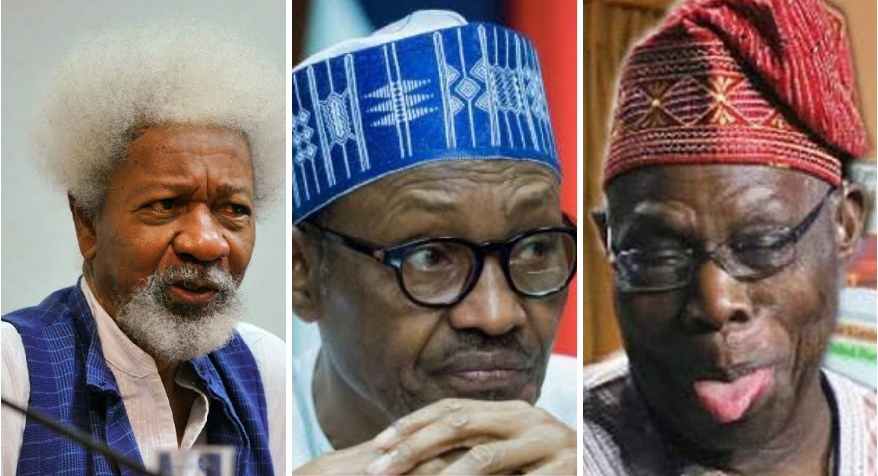Soyinka backs OBJ claims, says Nigeria more divided under Buhari