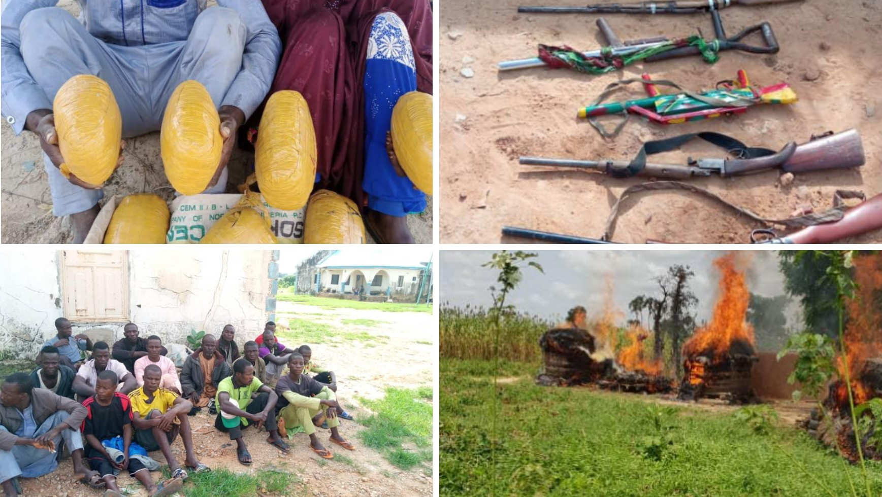 Troops neutralizes bandits operation, rescue kidnapped victims, recovers arms in north west region