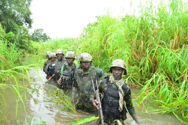 Troops rescue kidnap victims, raid B'Haram enclave in Gwoza