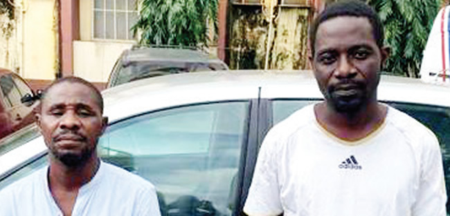Two suspected mobile phone fraudsters arrested in Lagos