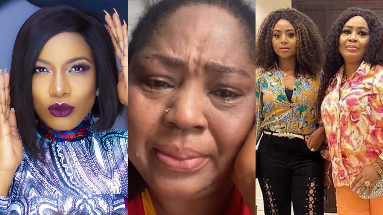 Video: Rita Daniels mum accuse actress, Chika Ike of planning to snatch her daughter's husband, Ned