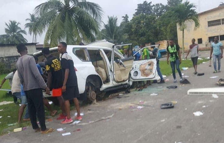 80 Arrested For Allegedly Looting, Damaging Properties In Calabar