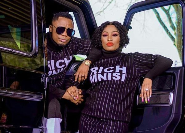 Check out how DJ Tira and Gugu Khathi served Bonnie and Clyde goals