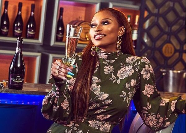 Pearl Modiade, Boity and others congratulate DJ Zinhle on her latest achievement