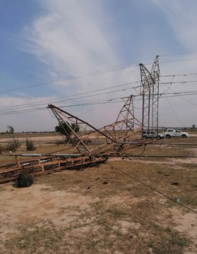 Goldfields storms result to collapse of electrical towers