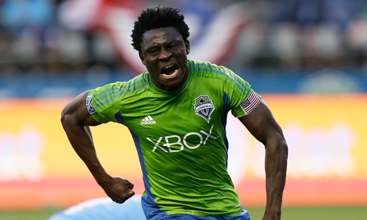 Jubilation as Obafemi Martins scores first goal after two-year drought