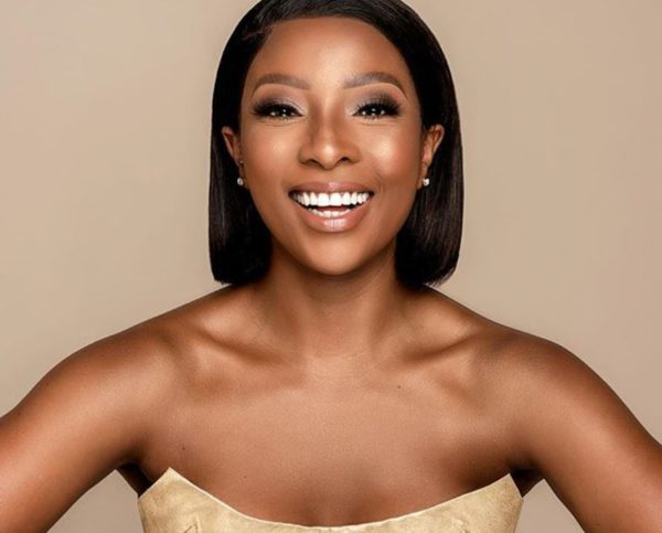 Pearl Modiadie shares first photo of herself after giving birth