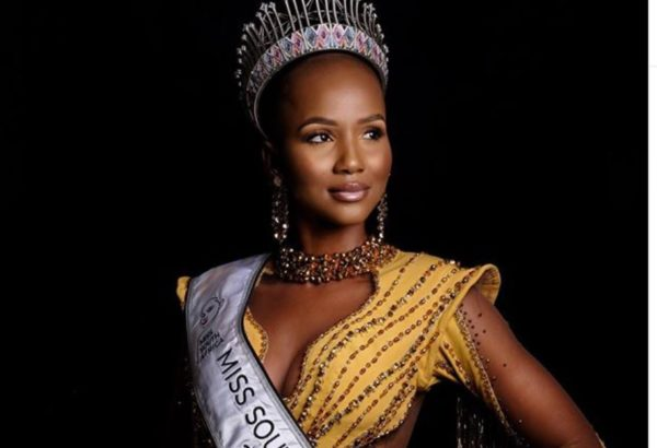 Miss SA 2020, Shudu Musiḓa's appreciation note to South Africans
