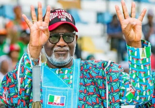 Ondo: Akeredolu Defeats Jegede Again, Re-Elected As Governor