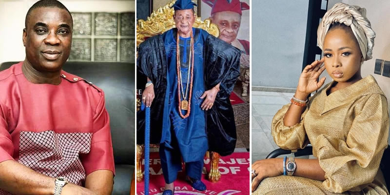 Alaafin of Oyo's Queen Ola breaks silence over alleged affair with KWAM1