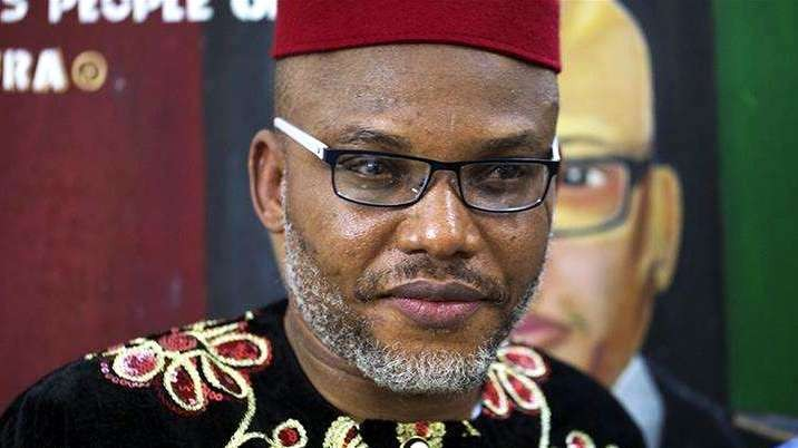 Biafra leader, Kanu threatens to disgrace corrupt politicians abroad