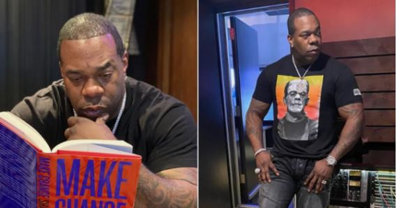 Photo: Busta Rhymes shares weight loss journey